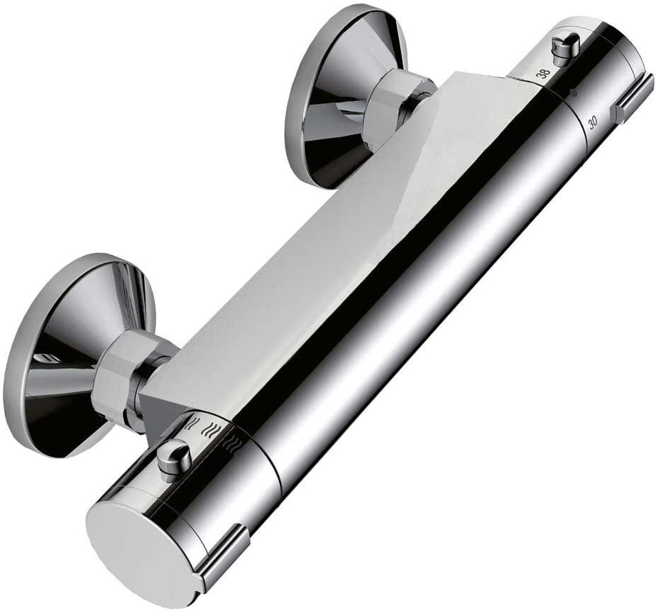Sanlingo Modern Designer Brause Armatur Duscharmatur Thermostat Chrom Bad