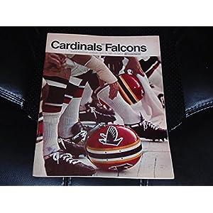 1968 ATLANTA FALCONS AT ST. LOUIS CARDINALS NFL FOOTBALL PROGRAM EX MINT