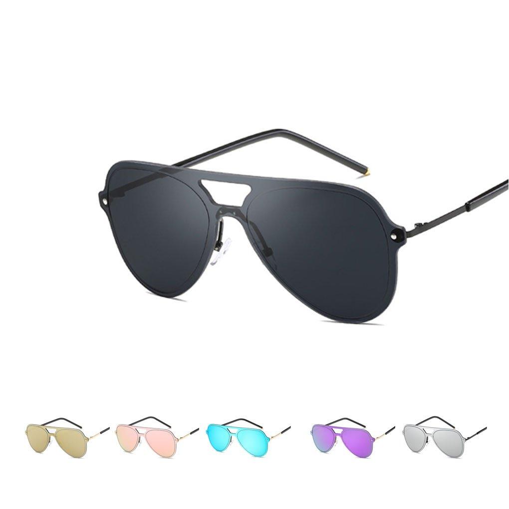 Colorful Metal Frame UV400 Sunglasses Round Double Nose Sunglasses Women Summer Eyewear Jiasijieke