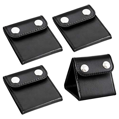 - PAMASE 4 Pcs Car Seat Belt Clips Adjusters for Adults and Kids, PU Leather Seatbelt Locking Clips Comfort Universal Auto Shoulder Neck Strap Positioner, Vehicle Seat Belt Covers