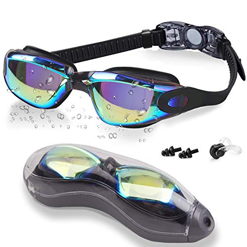FMU Swim Goggles, No Leaking Anti Fog