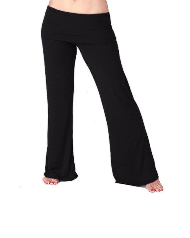 Lily Lotus ~ Long Pants ~ Palazzo Pant - Black