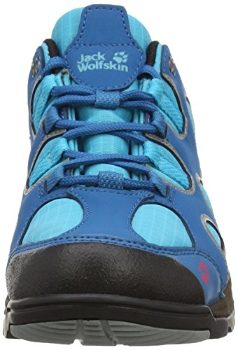 Texapore Turquoise Wanderhalbschuhe Dark Jack Damen amp; Wolfskin Crosswind O2 Trekking Ewfz4