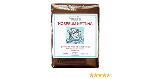 """color olive by Skeeta Mosquito noseeum netting//net 54/"""" wide x 10 yards long"""