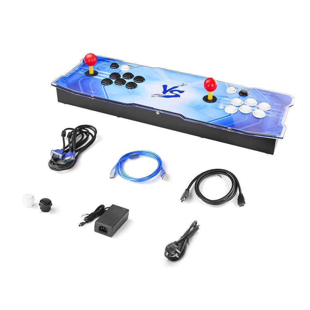 TAPDRA 3D Pandora Key 7 Retro Arcade Game Console | 2413 Retro HD Games(160 in One 3D Games Included) | Full HD 1920x1080 | Support Multiplayers | Add More Games | HDMI/VGA/USB/3.5mm Audio Output by TAPDRA (Image #7)