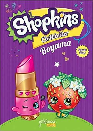 Shopkins Cicibiciler Boyama 2 9786053849735 Amazoncom Books