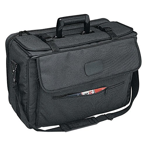 Bellino Heavy Duty Sample Case Organizer, Black