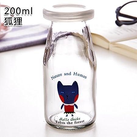 KXZDAS Bricolaje Creativo Pudding Botella Botellas de Vidrio ...