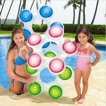 Man Friday Summer Child Kid Inflatable Flower Swimming Ring Child Armpits Rings by Man Friday