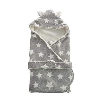 Otoño invierno Cálido Baby Swaddle Wrap impresión manta ...