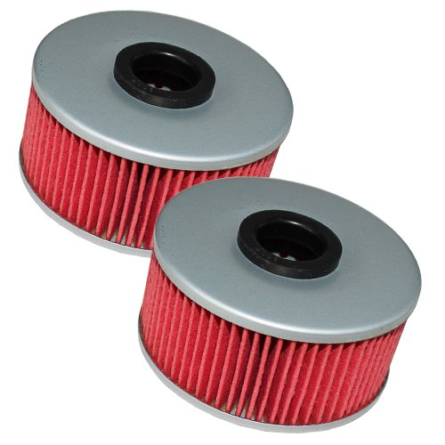 Caltric Oil Filter Fits YAMAHA 550 XJ550 650 XJ650 750 XJ750 MAXIM 1980-1983 2-PACK