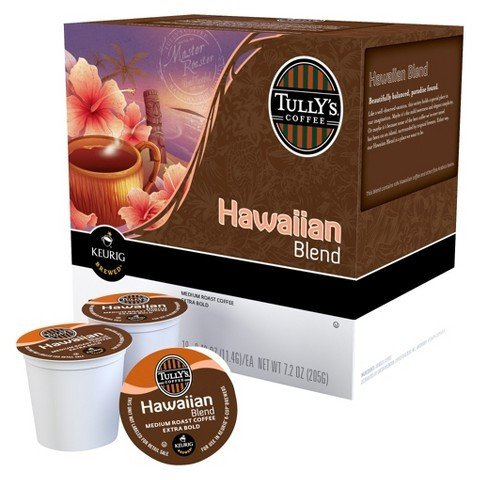 Tully's Coffee K-Cups, Hawaiian Blend, 160 Count,Tully-gj (Gj K-cup)