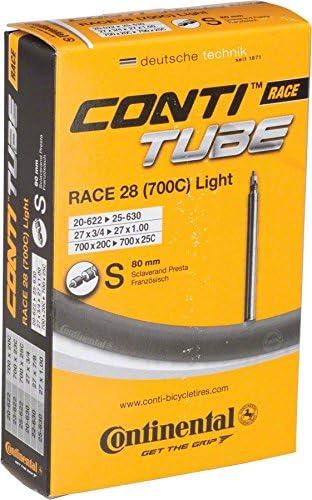 Continental Race 28 Light Presta Inner Tube 700 x 20-25mm 80mm valve