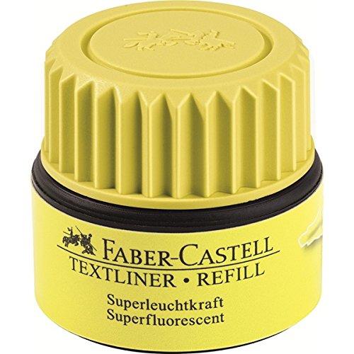 Faber-Castell 1549 07 - Refill für Textliner, gelb