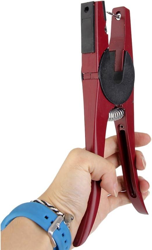 Pigro Punch Orecchio Foro Morsetto Bovini Pecora Capra Orecchio Marcatura Applicatore Canale Pinze Farm Animali strumenti