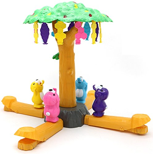 Bee Honey Bear (Little Treasures Hungry Bears Honey Grabber Play Set with Colorful Bears, Beehives and Honey with Rotating Tree Game Piece)
