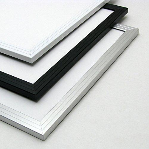 10枚セット激安アルミポスターフレーム B2サイズ(728×515mm) ホワイト 【ア/白/B2/セ】 B0196CS1MQ ホワイト ホワイト