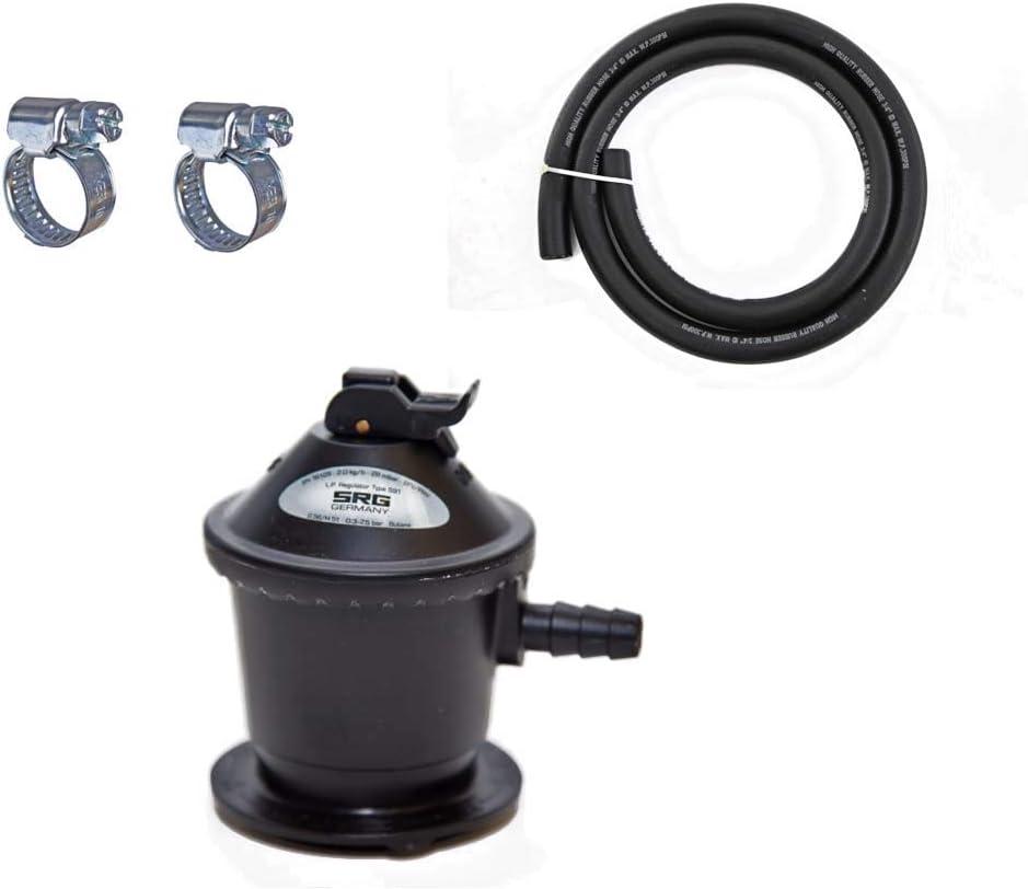 SRG regulador de gas de baja presión butano (LPG): Amazon.es ...
