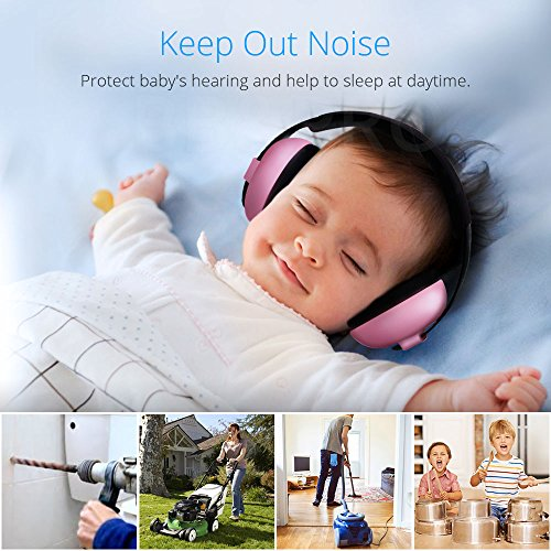 Baby Noise Cancelling Headphones, Baby Earmuffs, Baby Headphones, Baby Ear Protection, Baby Headphones Noise Reduction, Blue by JOINT STARS (Image #2)