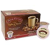 keurig almond coffee - Door County Coffee Single Serve Cups for Keurig Brewers (Almond Toffee, 12 Count) by Door County Coffee & Tea Co.