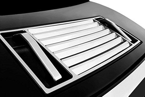 (Kasei H2-HVD Fits Hummer H2 Hood Deck Vent Panel Handle Covers Trim ABS Chrome 5Pcs ...)