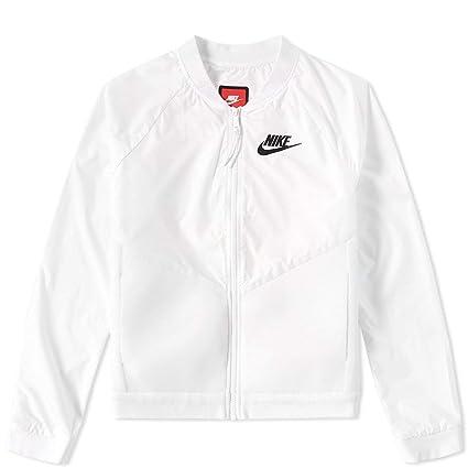 Buy Nike Womens Tech Hypermesh Bomber Running Jacket White (X-Large ... 7837d7685