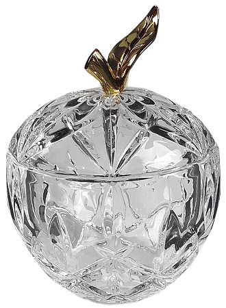 (Gorham Crystal Lady Anne Apple Votive W/)