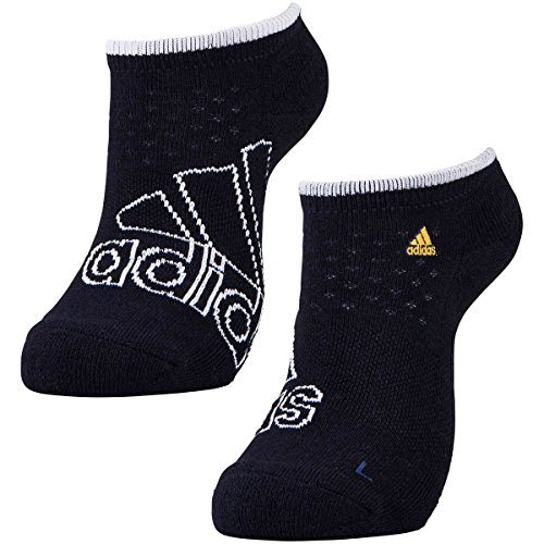 アディダス Adidas 靴下 ビッグロゴ クーリングアンクルソックス レディス ネイビー フリー