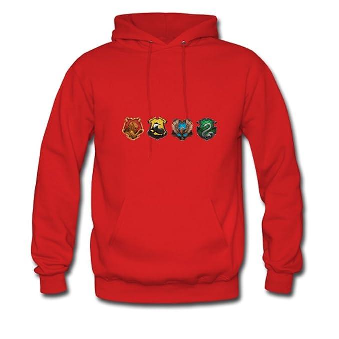 hjgbeds Boy para hombre Harry Potter Hogwarts Logo Gildan sudadera con capucha abrigo: Amazon.es: Ropa y accesorios