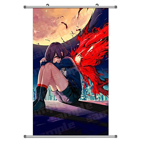 A Wide Variety of Tokyo Ghoul Anime Characters Wall Scroll H