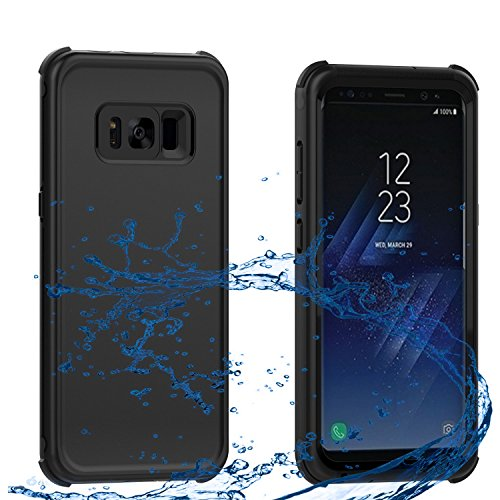 AICase Samsung Galaxy S8 Plus Waterproof Case, ShockProof, SnowProof, DustProof IP68 Certified Dual-use Full Sealed Heavy Duty Protective Waterproof Cover for Samsung Galaxy S8 Plus(6.2 inches)