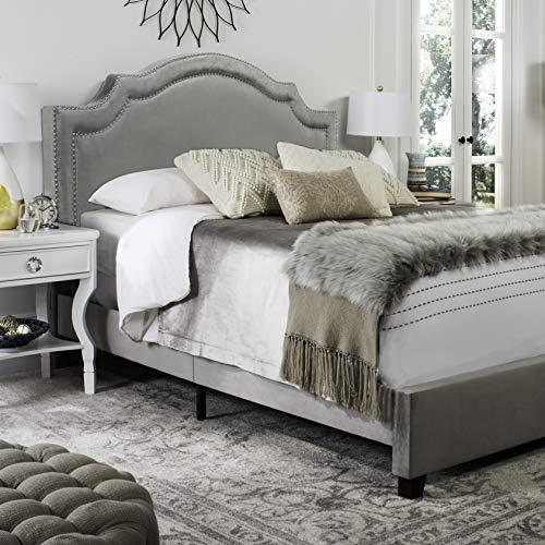 Safavieh FOX6211F-Q Bed, Queen, Gray