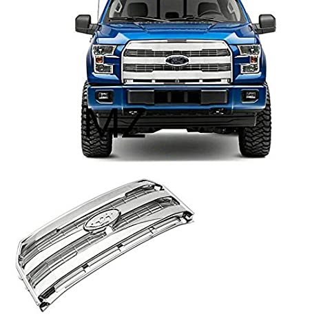 Amazoncom 15 17 Ford F150 King Ranch Style Chrome Grill