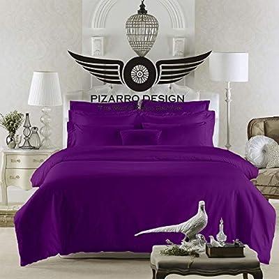 PIZARRO - Juego de sábanas de algodón Egipcio de 750 Hilos ...