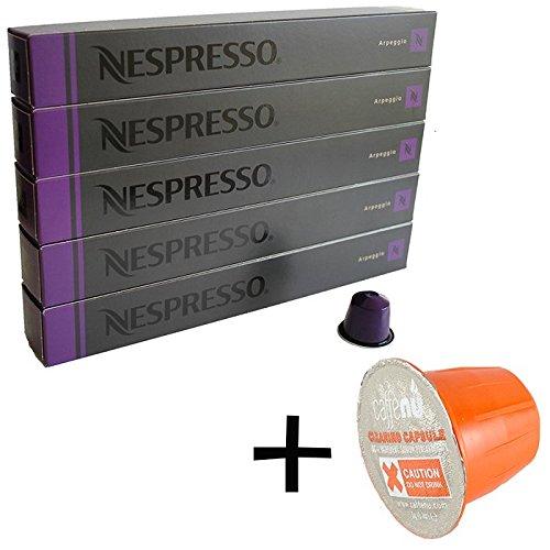 (유익 세트/세제 샘플1 개부착) NESPRESSO 네스프레소 캡슐 커피 앨 배 지오 1개 10캡슐x5개 세트