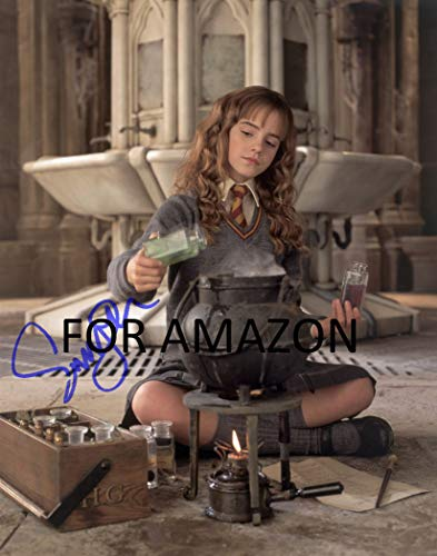 Harry Potter Emma Watson Autographed Preprint Signed 11x14 Poster Photo from Celebrity Graphs
