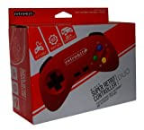 SNES Super Retro Controller Pad - Duo - Red (Retro-Bit)
