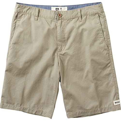 Reef Walkshorts (New Reef Men's Moving On 3 Short Cotton Polyester Brown)