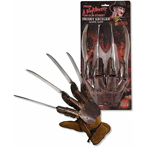 Deluxe Freddy Krueger Glove Costume Accessory -