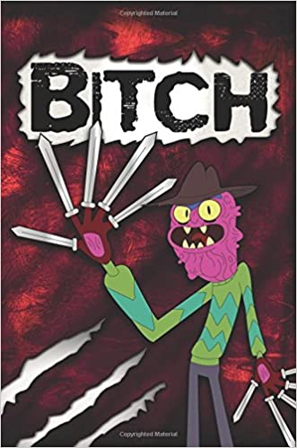 82039d253a1ba7 Bitch Scary Terry Rick and Morty Lined Journal Notebook Paperback – 14 Jul  2017