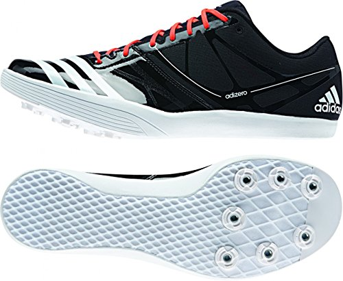adidas Adizero salto de longitud clavos–SS15 negro