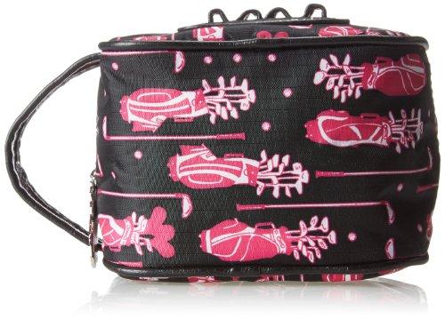 Sydney Love Fuchsia Golf Ladies Caddy Bag Cosmetic Case,Multi,One Size by Sydney Love (Image #4)
