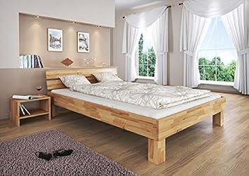 Doppelbett Futonbett überlänge 140x220 Buche Französisches Bett