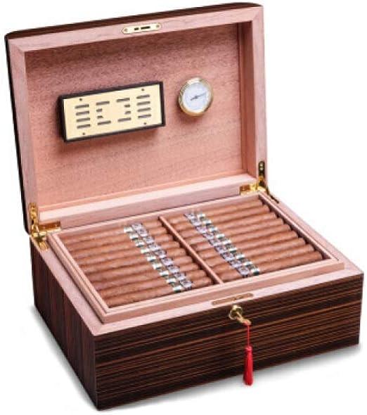 Kaiyitong Caja de Cigarrillos, Caja de cigarros de Madera de Cedro ...