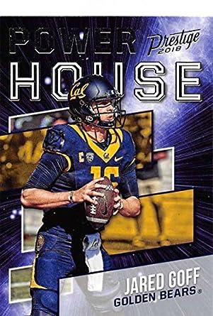 buy online d820c 6155e Amazon.com: 2018 Prestige NFL Power House #PH-JG Jared Goff ...