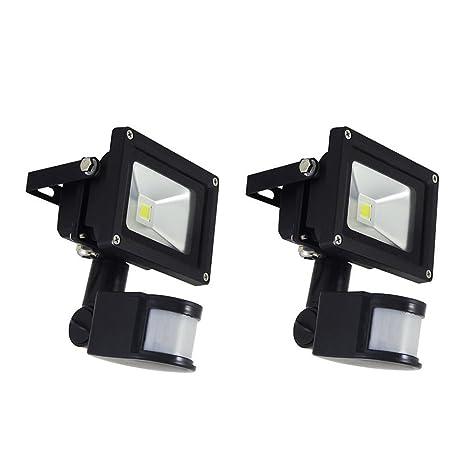 MCTECH 10W 20W Foco LED Proyectores Proyectores con Sensor el movimiento de la lámpara a prueba