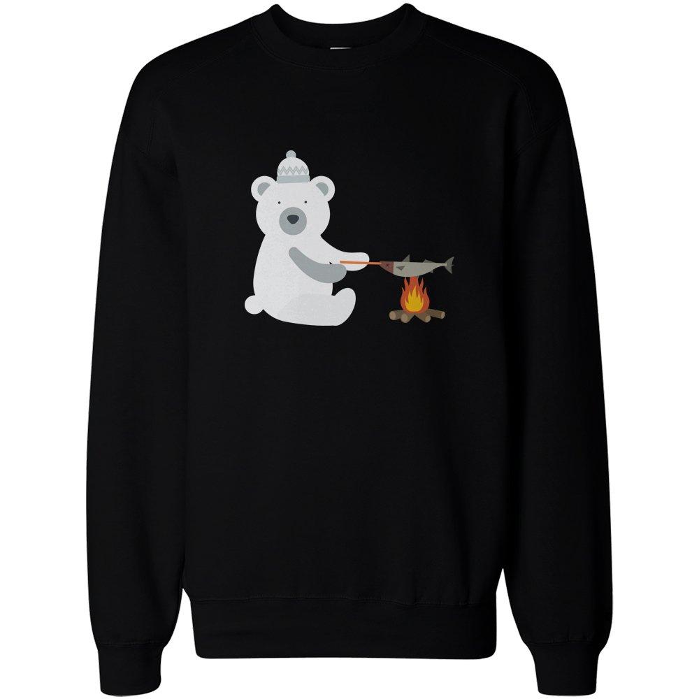 365 Printing Animal Christmas Black Sweatshirt 365 Printing inc JSS045_054