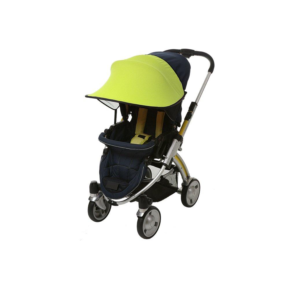 B00EAR6QD4 Manito Sun Shade for Strollers and Car Seats (Green) UPF 50+ 512B2Bz7TJaYL