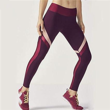 QQAAZZ Pantalones De Yoga Deporte Fitness Deportes Mujer ...