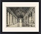 Framed Print Of Versailles/mirrors 1904